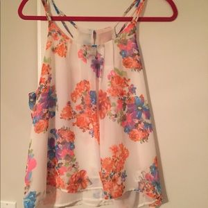 NWT! Colorful tank top! Offers welcome!
